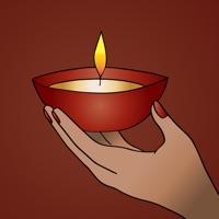 Mandala Happy Diwali Sticker