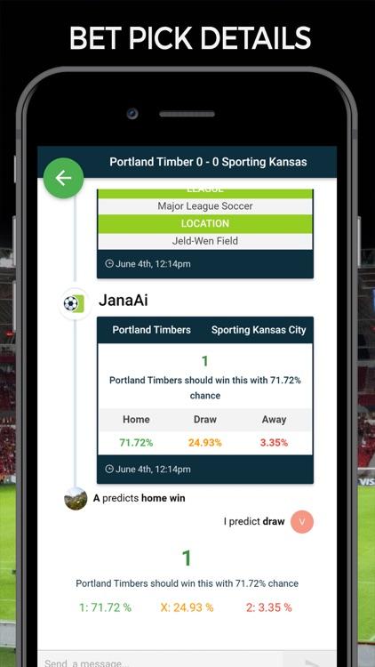 Soccer Predictions Football AI screenshot-5