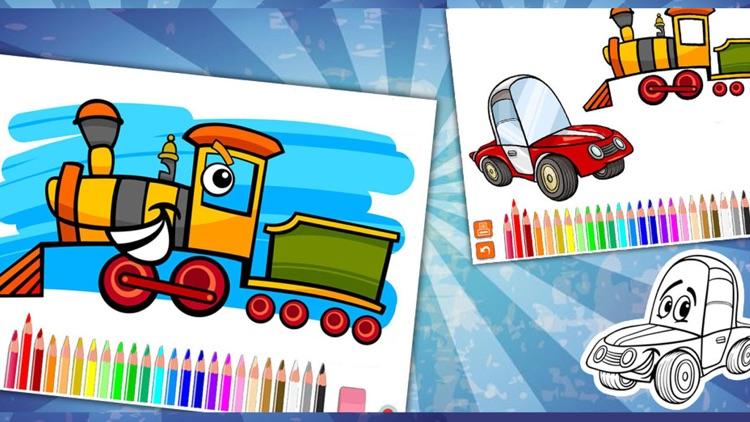 Coloring Cars screenshot-3