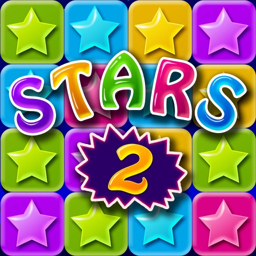 Lucky Stars 2 - A Free Addictive Star Crush Game To Pop All Stars In The Sky icon