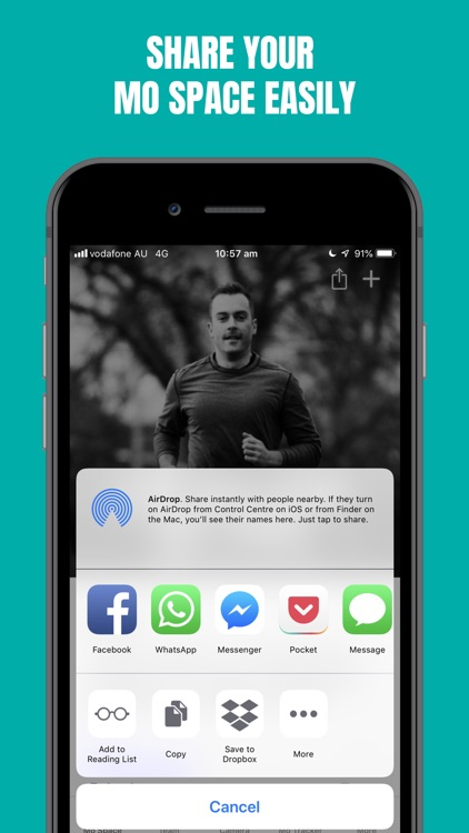 Movember Mobile screenshot-4