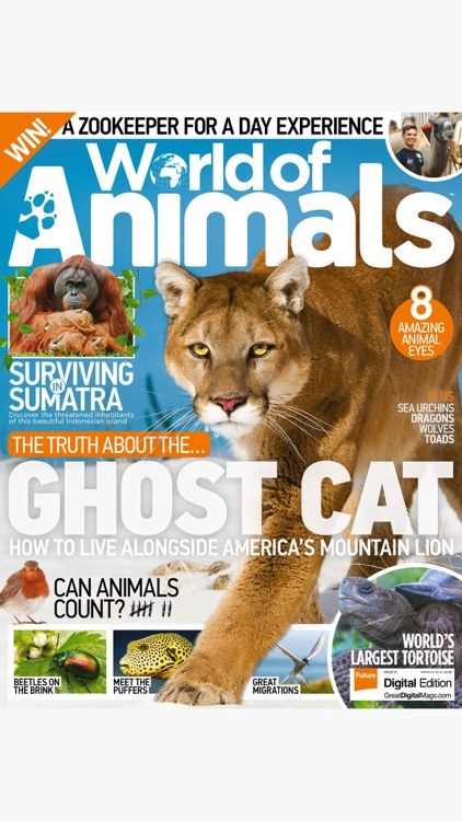 World of Animals Magazine: Wildlife and nature