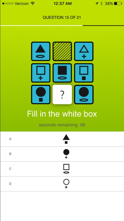 Thinx IQ Test