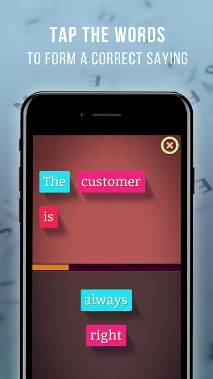 Sayings Builder Master screenshot-1