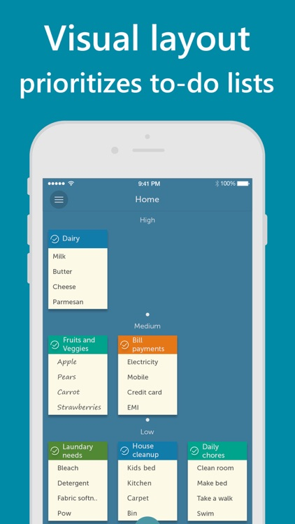 Orderly - Simple to-do lists screenshot-1