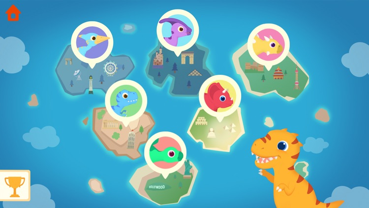 Dinosaur Plane - Game for kids screenshot-9