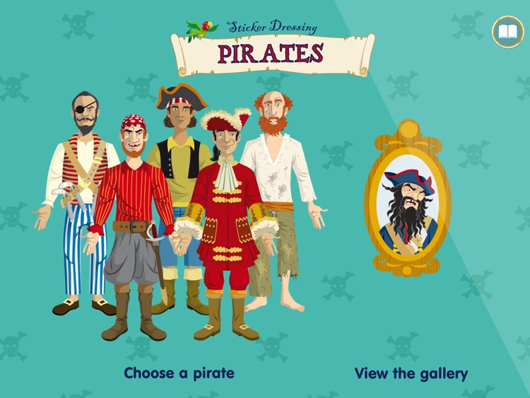 Usborne Sticker Pirates
