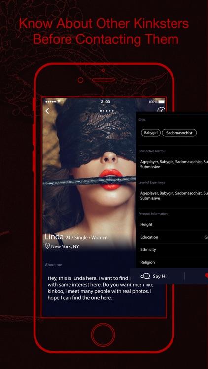 Kinkoo: Kinky, Fet BDSM Dating screenshot-4
