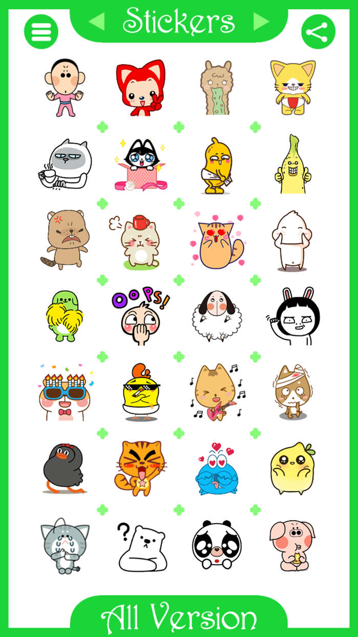 Stickers for WhatsApp ^^ Screenshot
