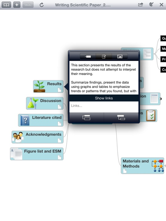 Mindjet Maps for iPad
