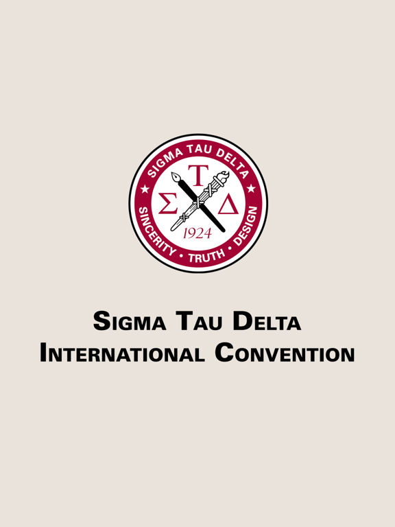 Sigma Tau Delta Convention screenshot 3