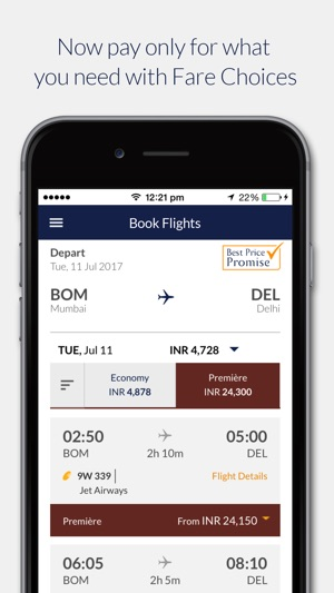 Jet Airways On The App Store