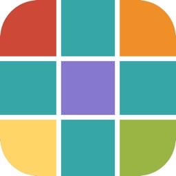 Super Head Go-puzzle of colors