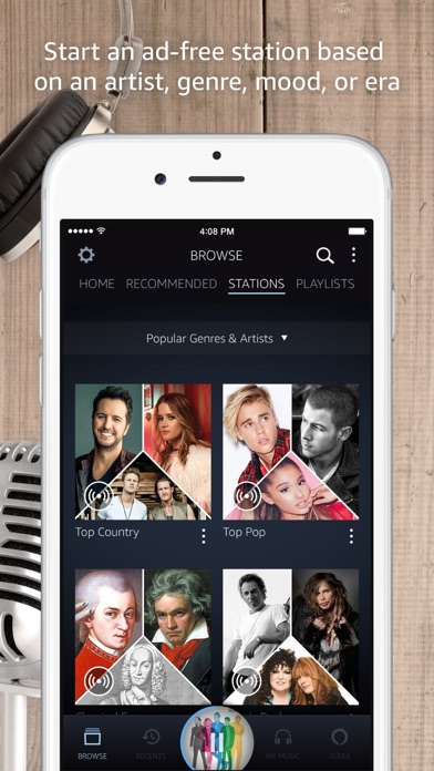 Amazon Music app image