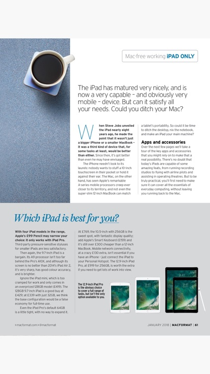 MacFormat: the Mac, iPad, iPhone & Apple magazine screenshot-4