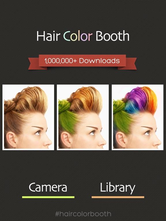 Hair Color Booth™ iPad