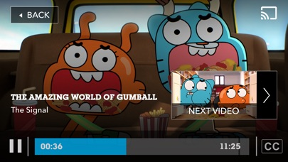 Cartoon Network phone App screenshot 5