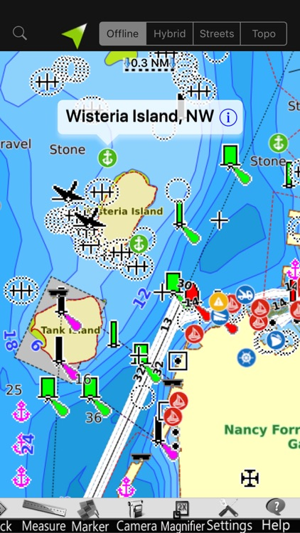 Louisiana GPS Nautical Charts screenshot-2