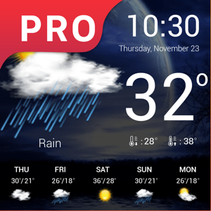 Weather : Weather forecast Pro - Weather app
