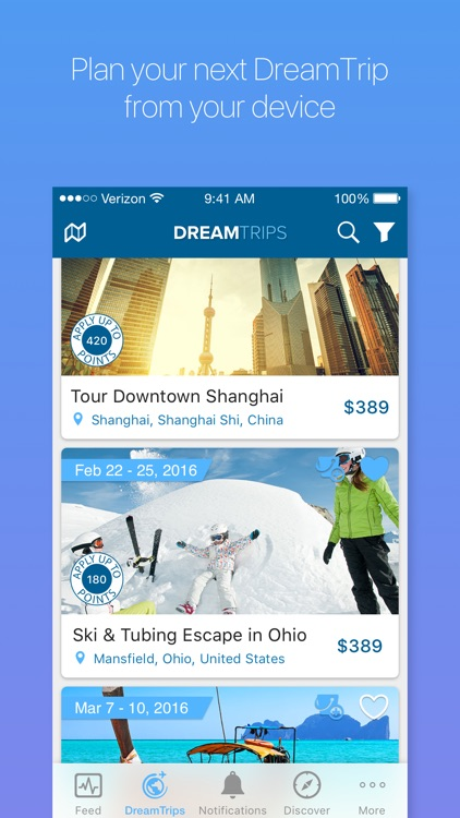 DreamTrips screenshot-0