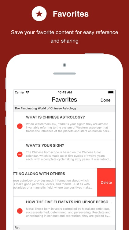 Chinese Astrology screenshot-4