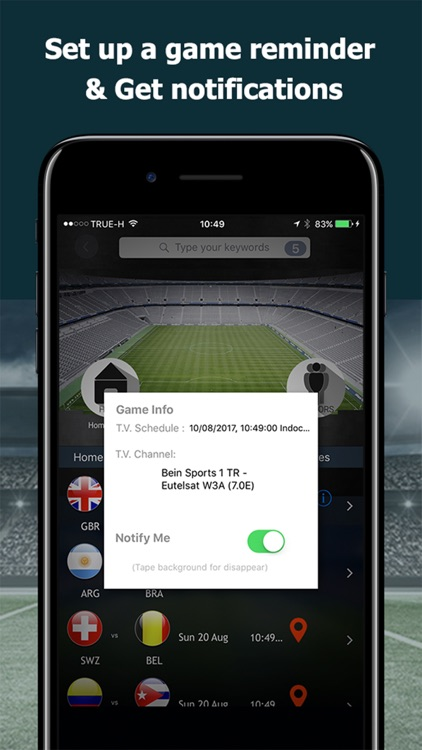 LetzCheer: Game Day Sports App