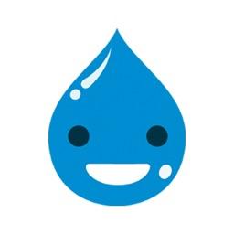 Drop Water Emoji - Smiley pack
