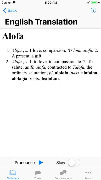 Samoa Language! screenshot-4