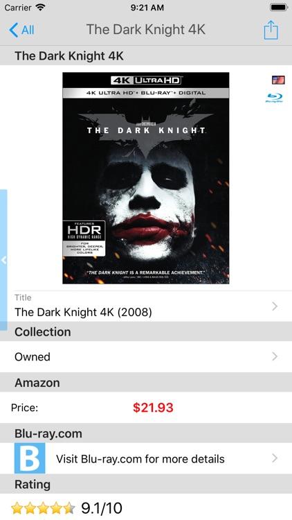 My Movies by Blu-ray.com screenshot-4