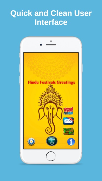 Hindu Festivals Greeting Cards screenshot 1