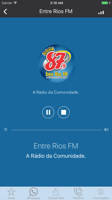 Entre Rios FM screenshot one