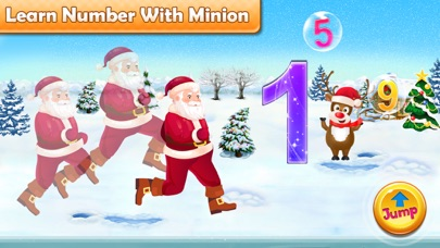 Santa Run - Learning FlashCard screenshot 3