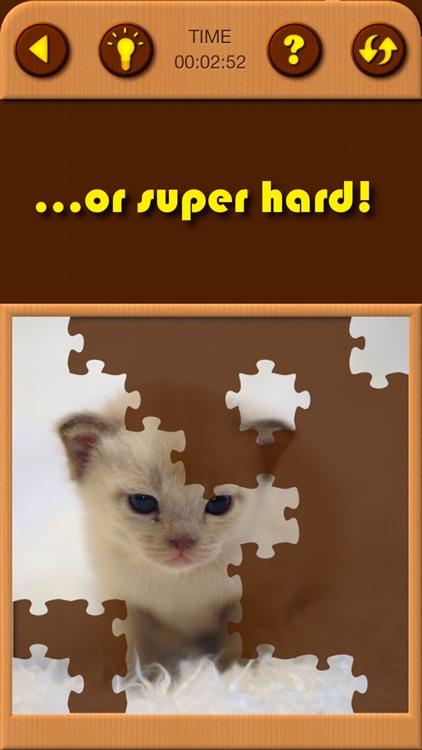 Cat Kitten Jigsaw Puzzle Games screenshot-3