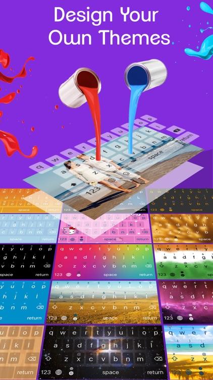 ReBoard Keyboard with 27 apps screenshot-4