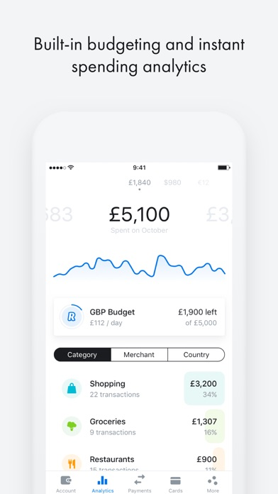 Screenshot for Revolut - Beyond Banking in Kazakhstan App Store