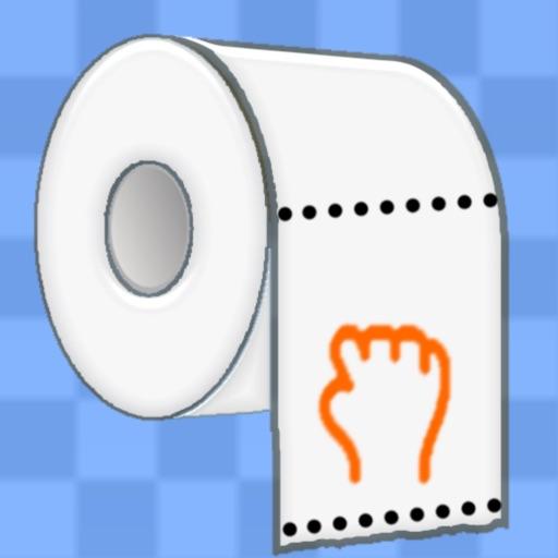 Toilet Paper Racing