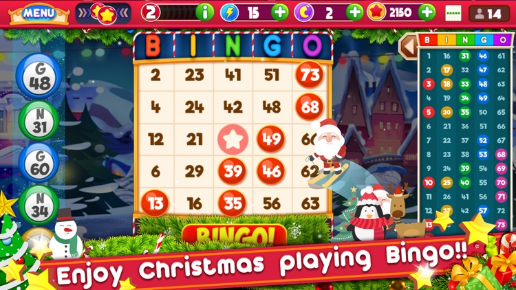 Bingo Christmas: Holiday Bingo