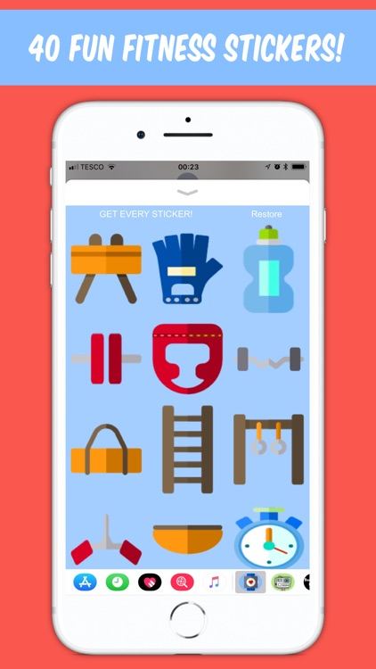 Fitness Sticker - for iMessage