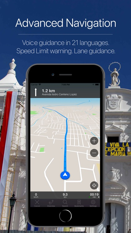 Nicaragua Offline Navigation screenshot-3