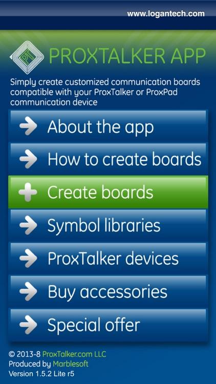 ProxTalker App - Plus Widgit