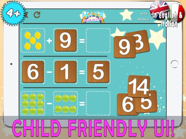 Math Mania HD screenshot-3