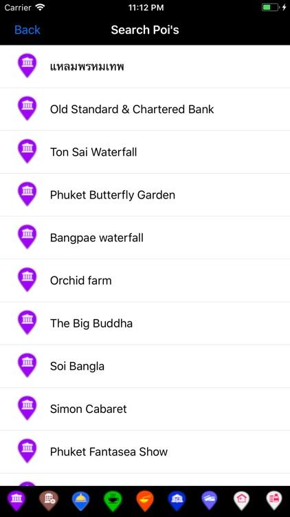 Phuket Travel Map Offline screenshot-3