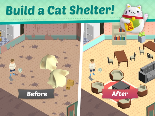 Save cats, uncover secrets & solve puzzles in Cat Rescue: Match Story Image