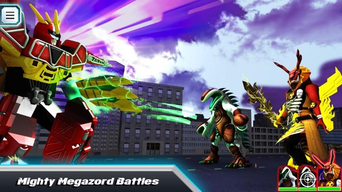 Power Rangers Dino Charge Screenshot