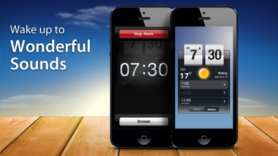 Weather Clock Pro review screenshots