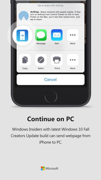 Continue on PC - 窓用