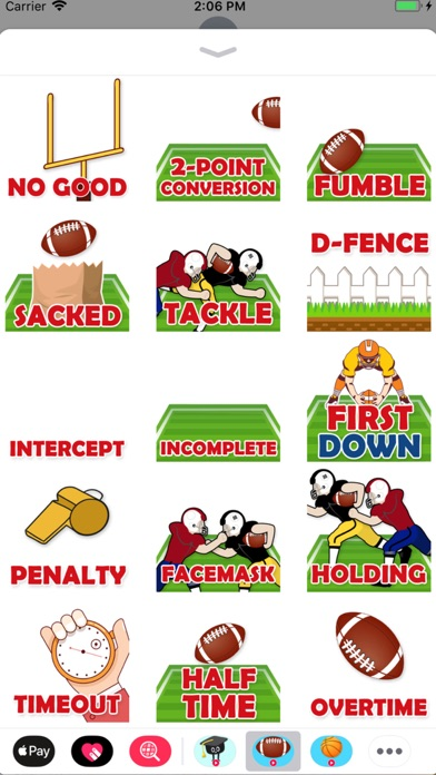 Animated Football Stickers Screenshot 2