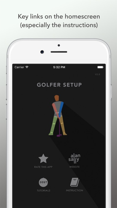 Golfer Setup 2019 screenshot four