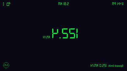 Screenshot of Tachimetro GPS: contachilometr5