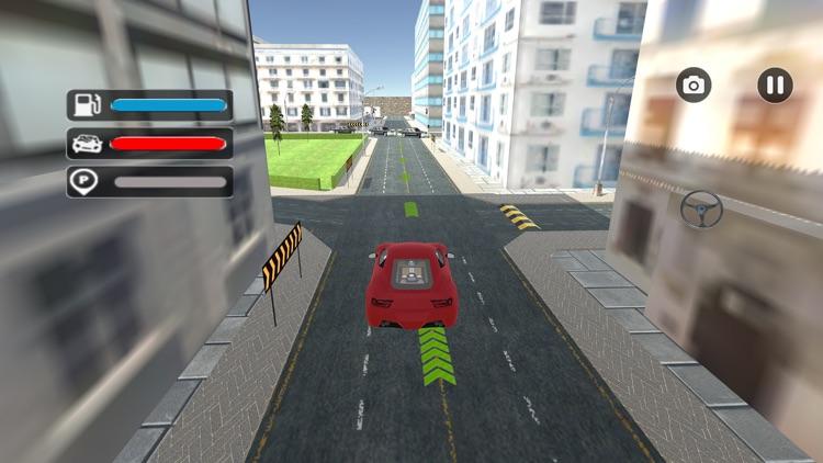 Futuristic Car Park Challenge screenshot-4